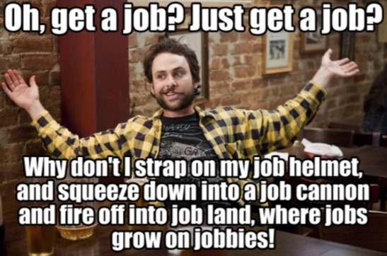 job hunt meme   Google Search
