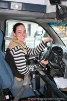 Latham Kelda driving bus (inside)